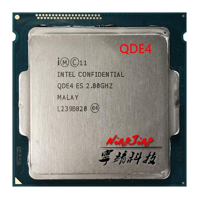 Четырехъядерный процессор Intel Core i7 4770K 4790K es QDE4 2,8 GHz с восьмиядерным процессором 8M 83W LGA 1150|Процессоры|   | АлиЭкспресс
