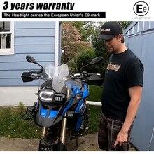 Motosiklet ışıkları far BMW F800GS F800R F700GS F650GS macera motosikletleri komple LED projektör far takımı