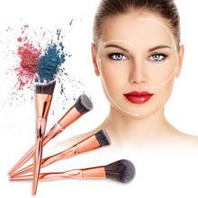 цены на 4Pcs Make up Foundation Powder Eye Shadow Blush Eyebrow Eyeliner Blush Cosmetic Concealer Brushes Soft Synthetic  в интернет-магазинах