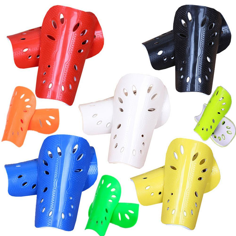 1pair Soccer Shin Guard Pads Soft Football Cuish Plate Breathable Shinguard Leg Protector Safety Potection Outdoor Sports