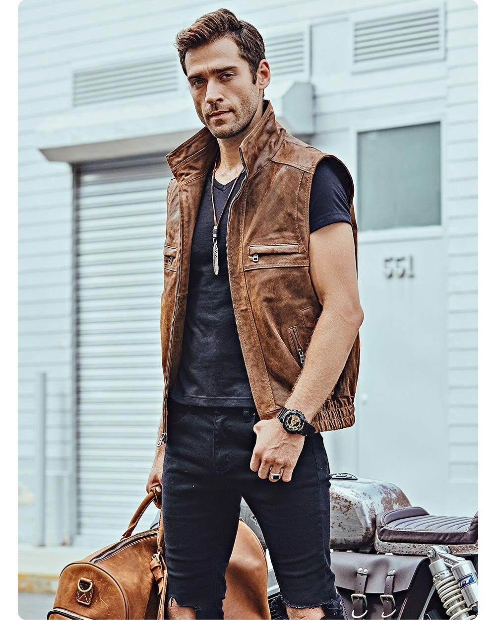 Hbe9ebfa6408f45b1be2d6d805235c9d1t Mew Men's Leather Retro Vest Stand Collar Men's Motorcycle Casual Vest