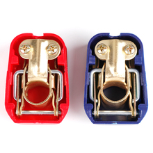 12V Auto Car Battery Terminals Connector Switch Clamps Quick Release Lift Off Positive Negative For Car Boat Car-styling universal car battery terminal connector battery 2pcs quick release battery terminals clamps toggle switch parts for truck auto