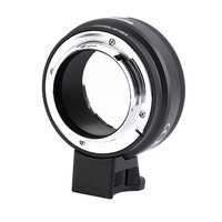 Lens Mount Adapter with Aperture Dial For Nikon G,DX,F,AI,S,D type Lens to Sony E Mount NEX Camera Nikon G NEX Camera Adapter