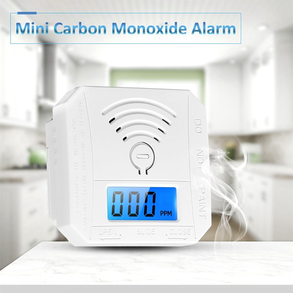 Purposeful Carbon Monoxide Detector Alarm Mini Co Detector Alarm Sensor With Digital Display Battery Operated For House Bedroom Living Room Regular Tea Drinking Improves Your Health