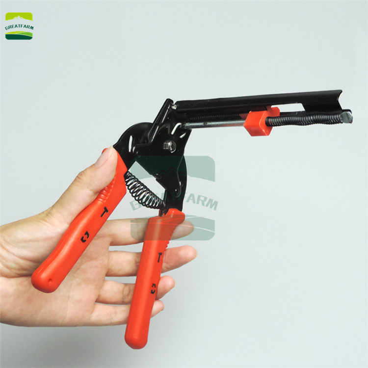 Livestock Piglet Pig Hog Tail Cut Pliers Cutter High Temperature Quenched