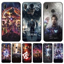 Captain America Iron Man Avengers Cover for xiaomi redmi note 7 k20 pro  5 6 4x 7a Clear Soft Silicone Phone Case