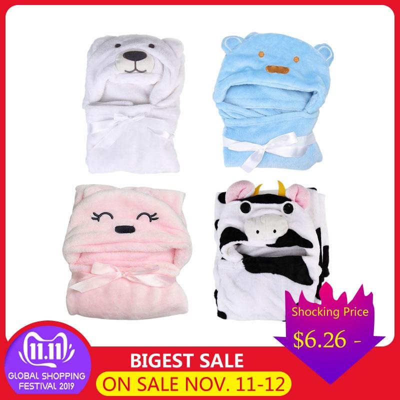 1pcs Cute Animals Baby Bathrobe Kids Comfortable Bathing Towel Animal Hooded Shower Bathrobe Towel Hooded Baby Accessories