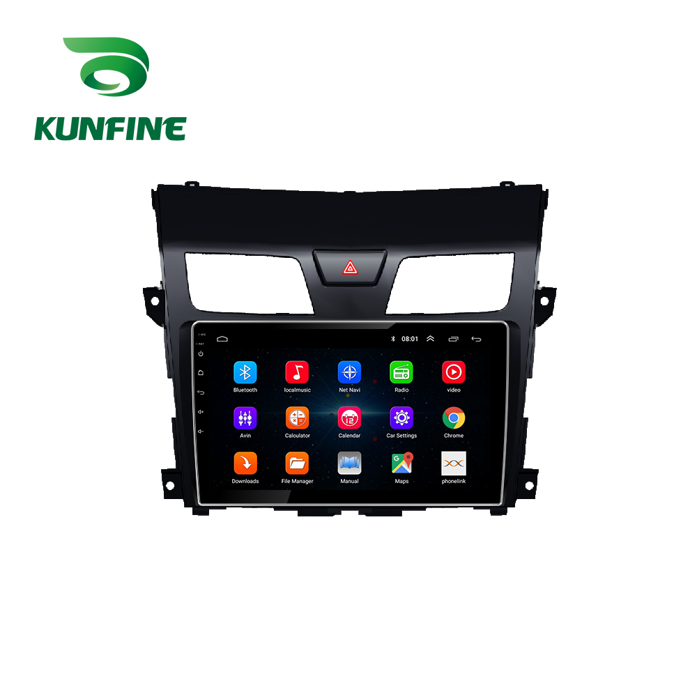 Octa Core Android 8.1 Car DVD GPS Navigation Player Deckless Car Stereo for Nissan Teana 2013 2014 2015 2016 2017 2018 2019