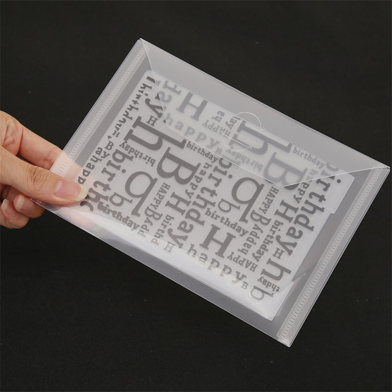 Plastic Large Stamp And Die Storage For Cutting Dies Hot Foil Plates Clear Stamps Embossing Folders Organizer Holders Bag