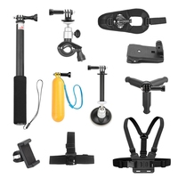 ABKT Underwater Sports Camera Fixed Car Bicycle Bracket Self Timer Extension Pole Tripod For Osmo Action