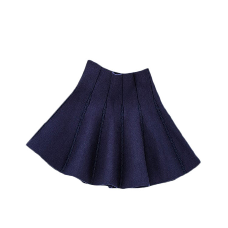 Knit Skirts for girls Fashion Children's Skirt Little Girls Autumn Winter Short Tutu Skirt for Girl Birthday Party Girl Clothing 3