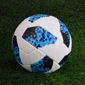 Image 4 - جديد كرة القدم النموذجية حجم 5 لينة بولي Material المواد كرة القدم التدريب المنافسة مباراة الكبار الطفل نفخ بالون دي futbol