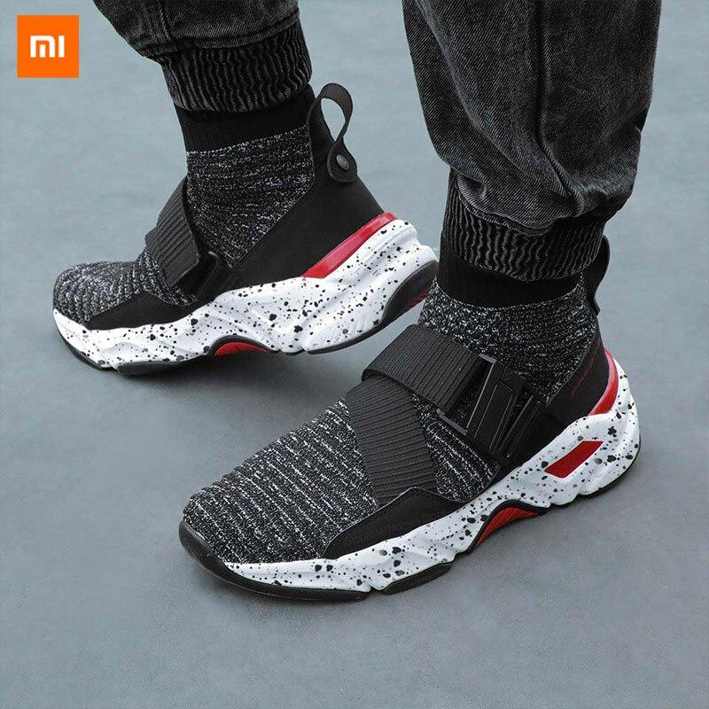 Xiaomi Mijia FREETIE ceinture magique boucle tendance volant tissé anciennes chaussures marée augmentée course chaussures de sport sauvage hommes