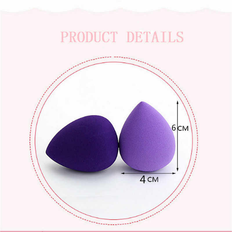 SUEF1pcs Smooth Makeup Sponge Cosmetic Puff Foundation Powder Facial Beauty Face Make up Sponge Tools Accessories Party gift @1