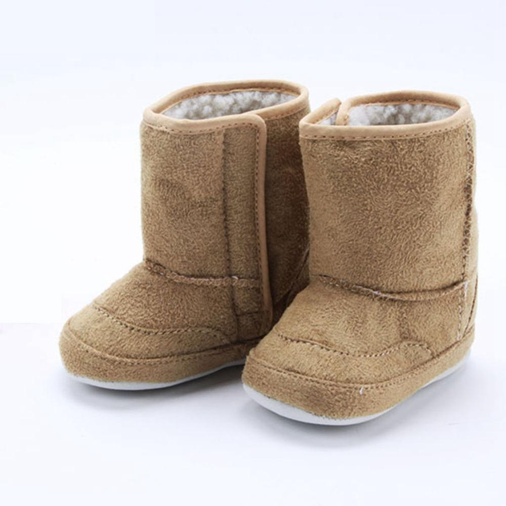 2019 Warm Winter Baby Ankle Snow Boots Infant Shoes Antiskid Baby Shoes First Walker XJ030