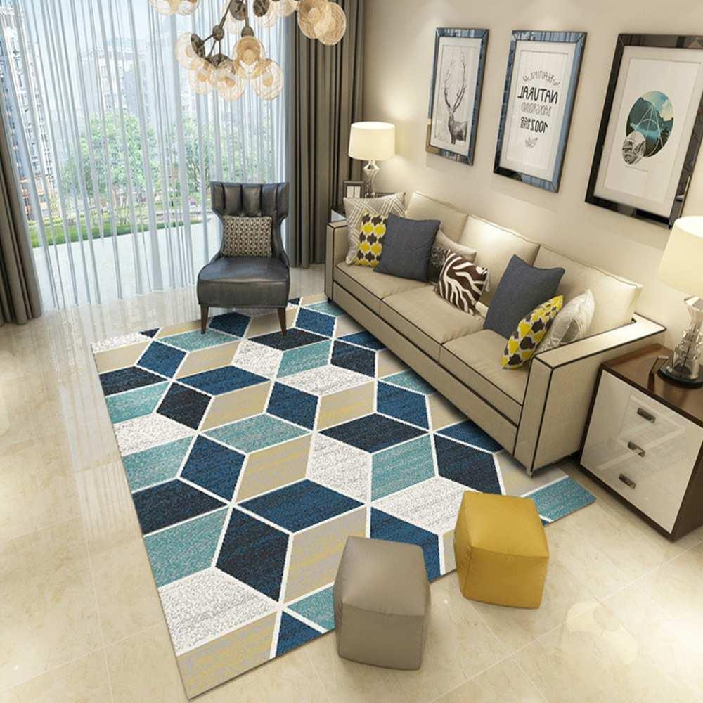 Offre spéciale mode tapis géométrique nordique moderne grand tapis pour chambre salon cuisine couloir décor à la maison tapis de sol