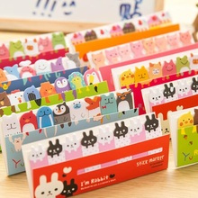 30pcs/lot various designs and shapes Mini index notes Office supplies stationery wholesale