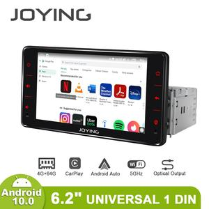 Image 3 - Android 10 head unit car radio 6.2 inch 4GB+64GB support 4G&Carplay&Android auto&Fast Boot audio RDS video GPS Navigation 5G WIF