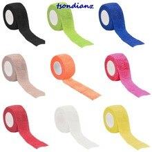 Startseite Outdoor Fitness Sicherheit Schutz Werkzeug Sport Schutz Elastische Bandage-mehrere Farben/2.5*450cm