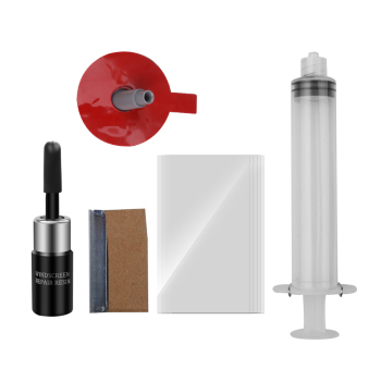 Auto Windshield Repair Kit to Fix Cracked and Scratched Glass of Car