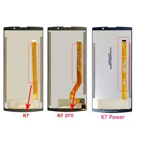 Image 2 - עבור OUKITEL K7 כוח LCD תצוגת מסך מגע 100% מקורי נבדק LCD Digitizer זכוכית לוח עבור OUKITEL K7 / K7 פרו Smartphone