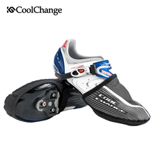 CoolChange Bicycle Shoe Covers Winter Thermal Elastic Cycling Overshoes  Windproof Half Palm Warmer Bike Boot Cover Unisex