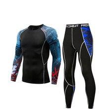 Running Tights Men Compression Sports Leggings Fitness Men Running Tights Gym Clothing Basketball Training Sportswear