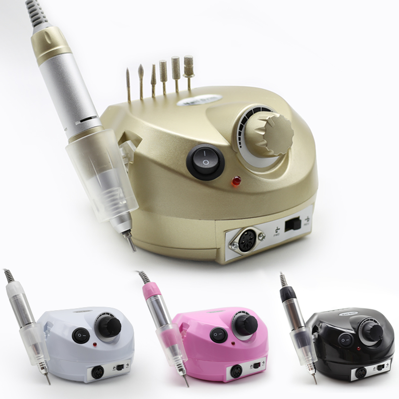Clou Beaute 15W 4 Colors 35000RPM Electric Nail Drill Machine Accessory Electric Nail File Sets Nail Art Equipment