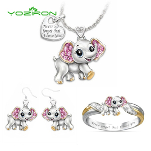 Yoziron 3pcs Lovely Elephant P