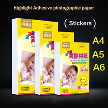 Photographic Paper Highlight Adhesive Inkjet-Printing-Paper 50pcs A5/a6