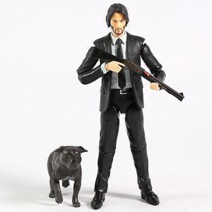 Image 3 - MAFEX 085 John Wick Chapter 2 Keanu Reeves PVC Action Figure Collectible Model Toy Figurine