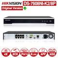 Система видеонаблюдения HIKVISION 8/16 CH DS-7608NI-K2/8 P с 8POE портом и DS-7616NI-K2/16 P с 16POE портом 4 K NVR с 2 интерфейсами SATA
