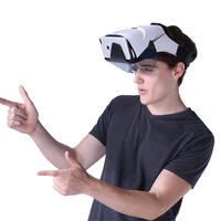 2021 occhiali VR AR montati sulla testa AR 50 ° FOV AR cuffie, smart AR 3D video realtà aumentata VR cuffie realtà virtuale immersiva