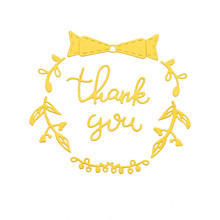 Naifumodo Word Dies Thank You Letter Metal Cutting Scrapbooking Embossing Cut Stencils Cards Craft for New 2019