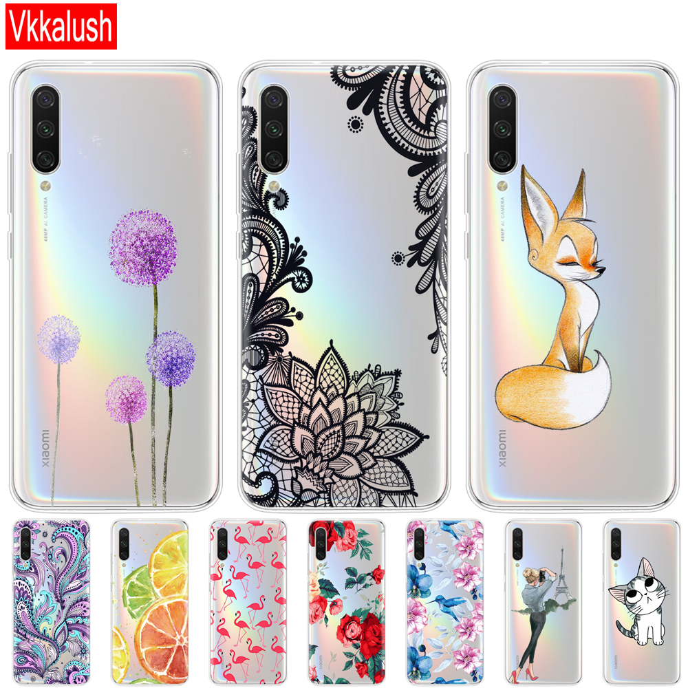 Silicon Cover For Xiaomi MI A3 Case Full Protection Soft Tpu Back Cover Phone Cases For Xiomi MI A3 Bumper Cover Phone Shell