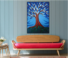 Абстрактные деревья холст картины украшение для гостиной дома
