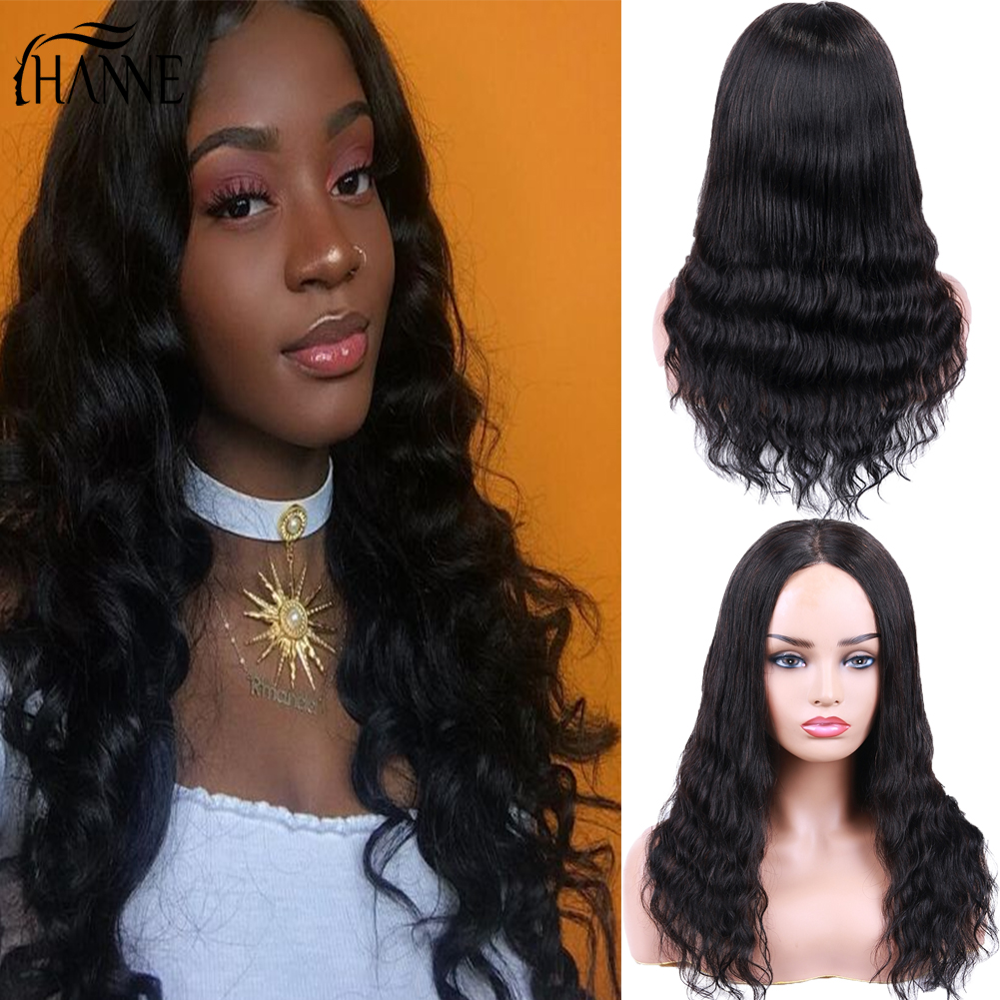 HANNE 4x4 Lace Closure 100% Human Hair Wigs For Black/White Women Straight Hair & Deep Wave 150% Density Glueless Lace Human Wig