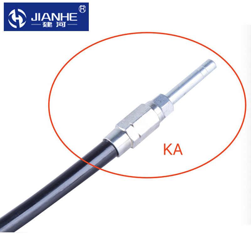 Conector da tubulação do óleo do parafuso prisioneiro da mangueira da lubrificação de ka kb jianhe/acessórios da lubrificação para o sistema centralizado da lubrificação/cnc