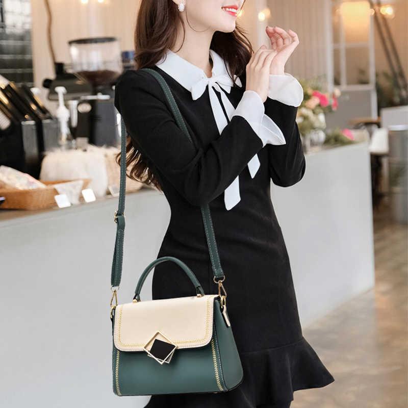 Bolsas femininas e bolsas de luxo crossbody sling sacos com fechadura decorações topo-alça tas totes senhora na moda bolsa de ombro mensageiro