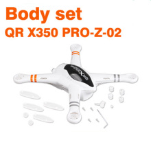 Original Walkera QR X350 PRO Body Set QR X350 PRO-Z-02 Spare Parts for FPV RC Dr