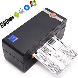 Impressora de alta velocidade da categoria comercial da impressora térmica da etiqueta do código de barras de 4 polegadas compatível com ebay amazon impressora de código de barras 4x6