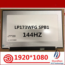 Laptop LCD 144HZ LP173WFG Led-Screen FHD SPB1 Matte Well 1920--1080 100%Test