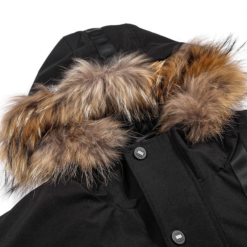 Size Plus Puffer Jacket Men 90% White Duck Down Jacket Winter Coat Men Korean Warm Parka Doudoune Homme Y8006 YY1380
