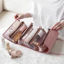 Косметичка женская портативная Большая вместительная сумка для