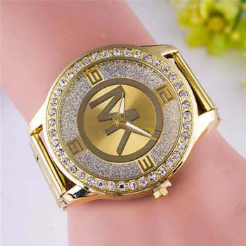 wk luxury brand European fashion watch ladies luxury gold full diamond watch quartz watch casual stainless steel woman watch2020 2