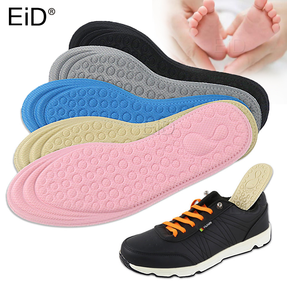 3D Sport Orthotic Insoles Flat Feet For Kids And Children Insole For Running Deodorant Massage Child Orthopedic Shoes Foot Care