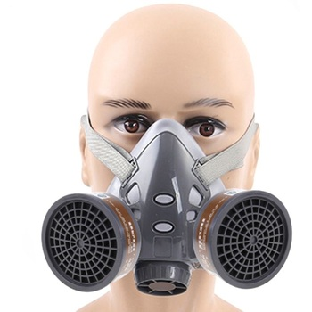 Half Face Respirator Dust Gas Mask for Painting Spray Pesticide Chemical high quality respirator gas mask brand practical type protective mask painting pesticide industrial safety chemical gas mask