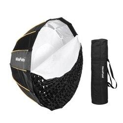 NiceFoto LED-Φ120cm Quick Set-up Folding Deep Parabolic Umbrella Softbox