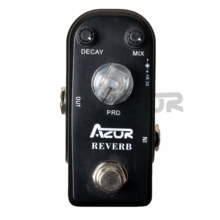 AZOR AP-312 Reverb Mini Guitar Effect Pedal Guitar Accessories 9V Guitar Pedal Guitar Part
