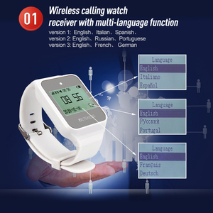 Image 3 - Retekess TD108 izle alıcı kablosuz garson çağrı restoran çağrı müşteri hizmeti mutfak Cafe fabrika diş hekimi kliniği